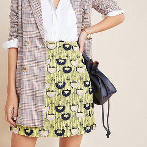 Loren Embroidered Mini Skirt